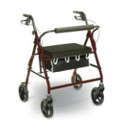 Invacare Supply Group Heavy Duty Rollator with Loop Brakes
